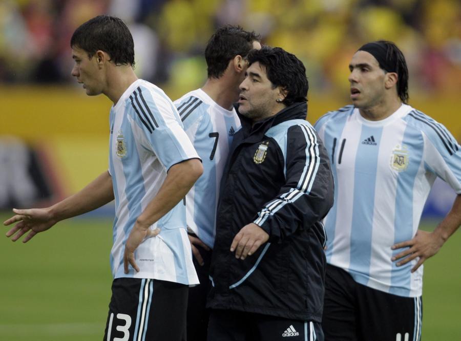 Maradona wściekły: Po co ten mecz z Rosją?!