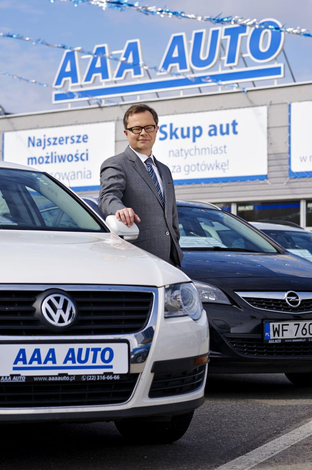 Przemysław Vonau, dyrektor generalny AAA Auto w Polsce