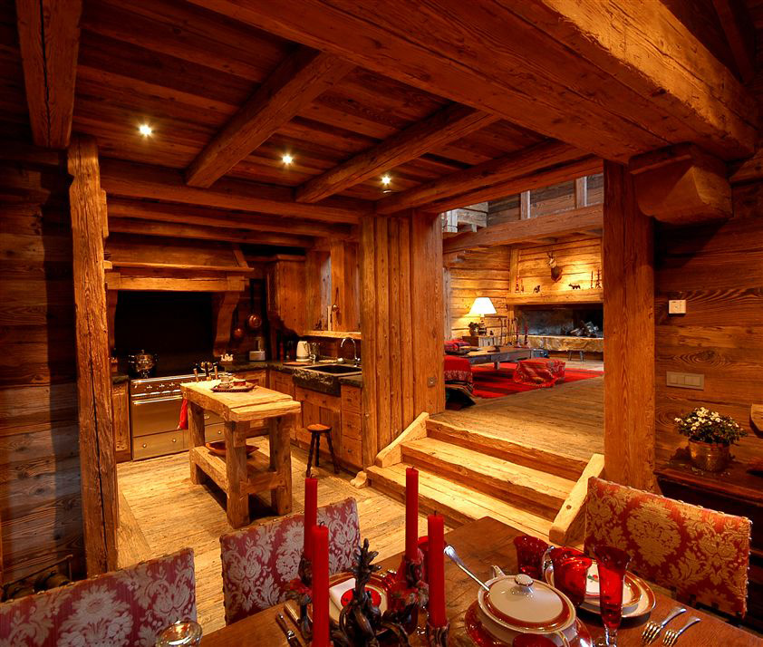 Meribel: Wyjątkowy klimat drewnianych domków