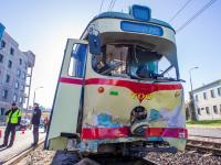 Zderzenie trzech tramwajów w Poznaniu. 30 osób rannych. ZDJĘCIA
