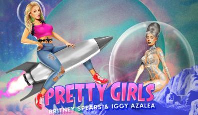 Britney Spears i Iggy AzalBritney Spears i Iggy Azalea są pretty girlsea