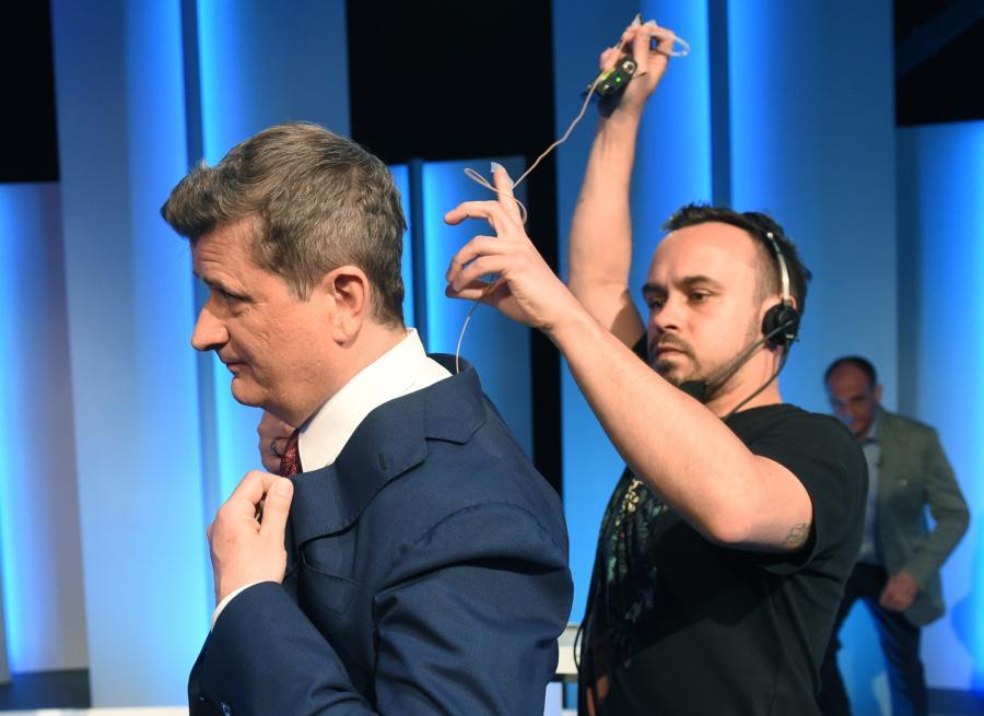 Kandydat na urząd prezydenta RP Janusz Palikot