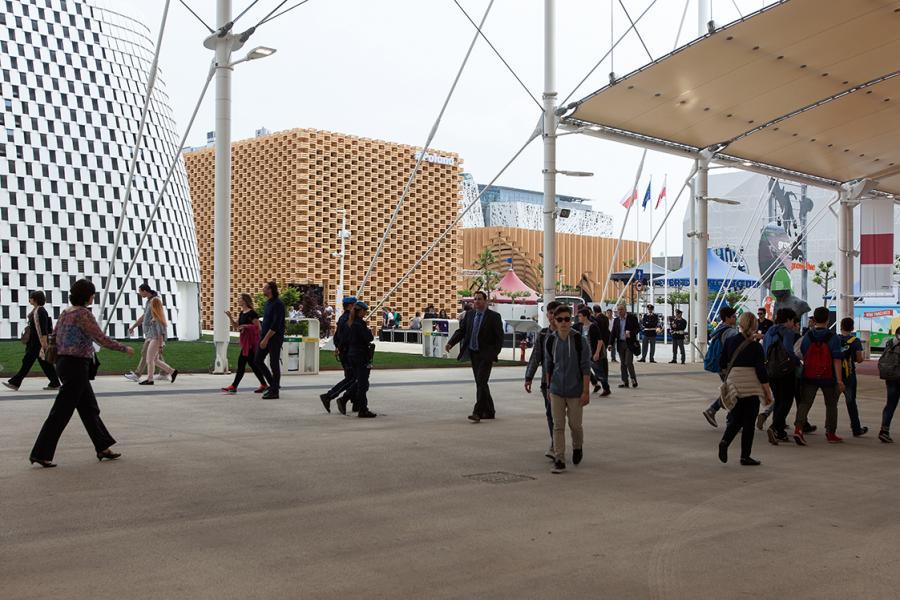 Polski pawilon na Expo