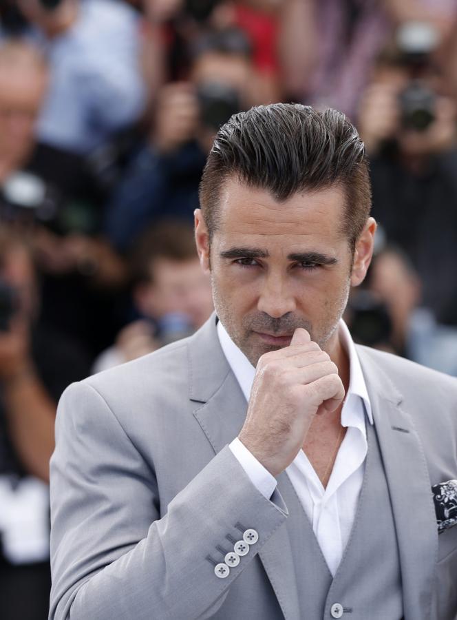 Colin Farrell na festiwalu w Cannes