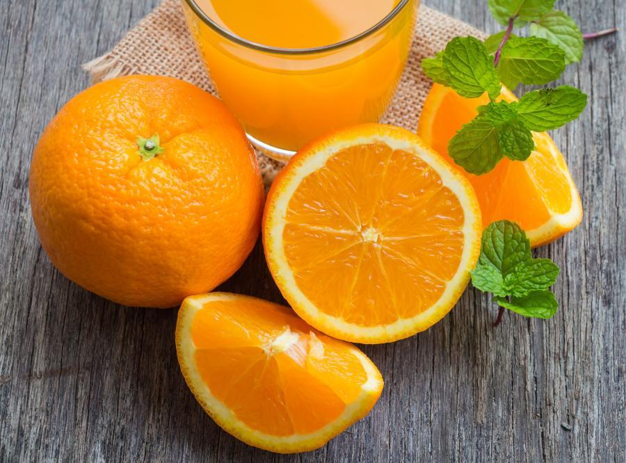 6. Pomarańcze