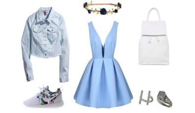 Sukienka i sneakersy - hitowe STYLIZACJE na wiosnę i lato 2015