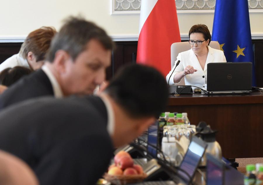 Posiedzenie rządu Ewy Kopacz