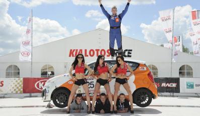 Filip Tokar wygrał oba wyścigi Kia Lotos Race na Slovakiaringu