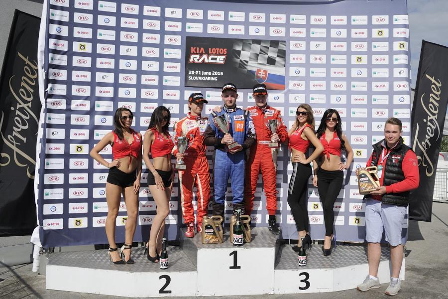 Po 3 rundach i 6 wyścigach pierwszą trójkę kierowców Mistrzostw Polski Kia Picanto tworzą Michał Śmigiel (400 punktów), Filip Tokar (381 punktów) i Konrad Wróbel (377 punktów)