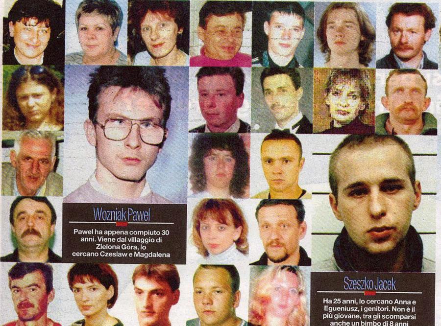 Zdjęcia zaginionych Polaków we Włoszech