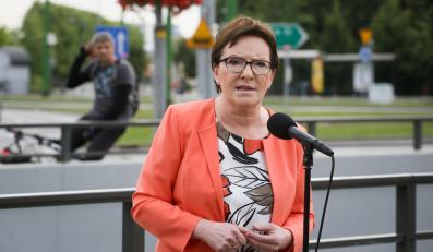 Premier Ewa Kopacz, podczas konferencji prasowej po spotkaniu szefowej polskiego rządu z przedstawicielami Central Związków Górniczych w Katowicach
