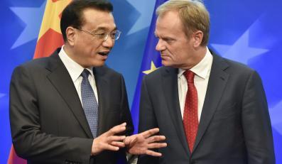 Donald Tusk i Li Keqiang