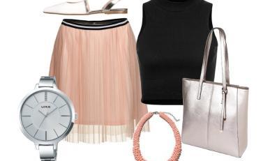 STYLIZACJE ze zwiewnymi sukienkami i spódniczkami na lato 2015