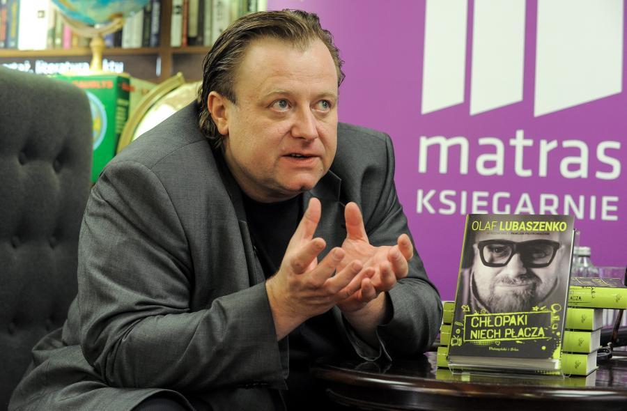 Olaf Lubaszenko: Dorosłem, choć nie jest to rzecz, która odbywa się z dnia na dzień
