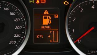 Wskażnik paliwa