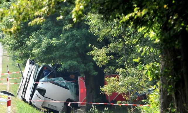 Tragiczny wypadek autobusu w Garwolinie. Są zabici