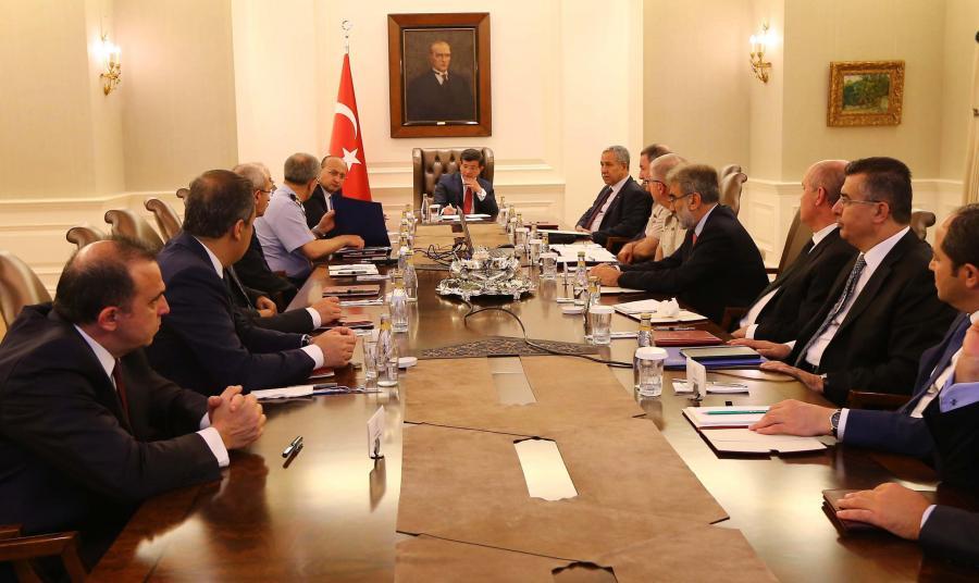 Posiedzenie tureckiego rządu