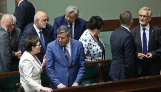 Ewa Kopacz i jej rząd w Sejmie