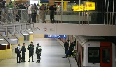 Zaskarży stolicę, bo wpadł pod metro