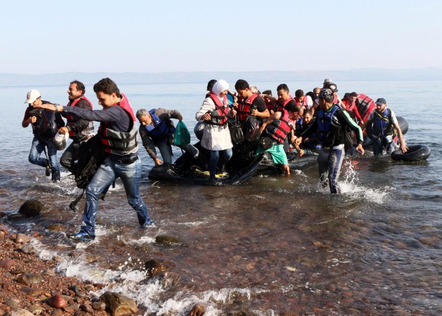 Imigranci na tureckim wybrzeżu