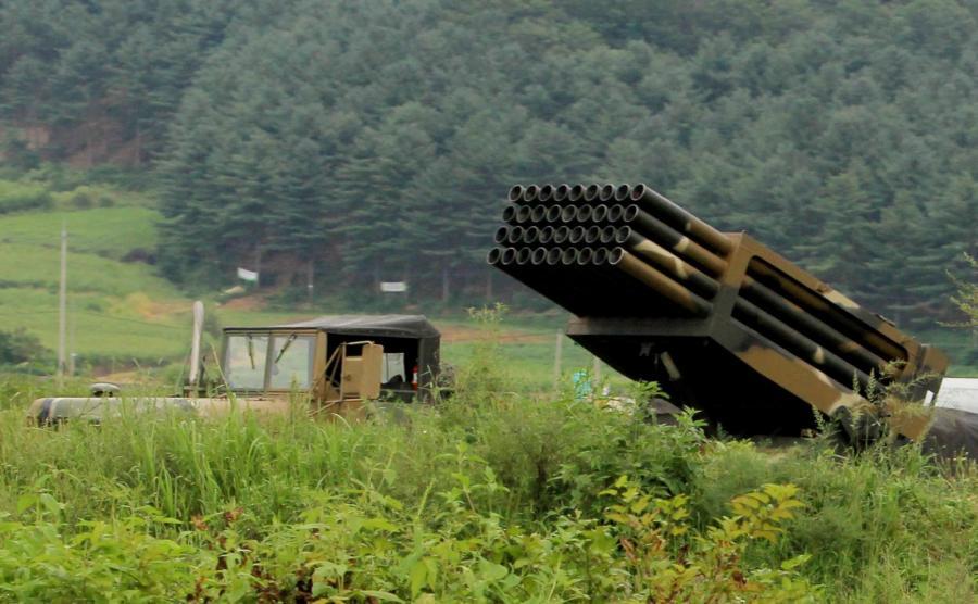 Południowokoreańska wyrzutnia rakiet