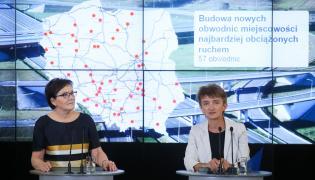 Ewa Kopacz i Maria Wasiak