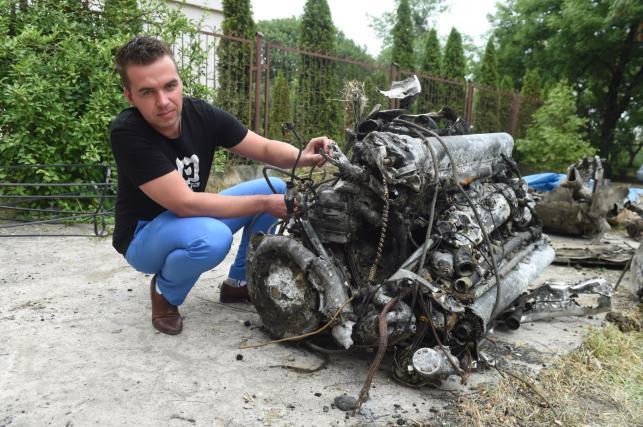 Samolot z czasów wojny odnaleziony na dnie Bzury