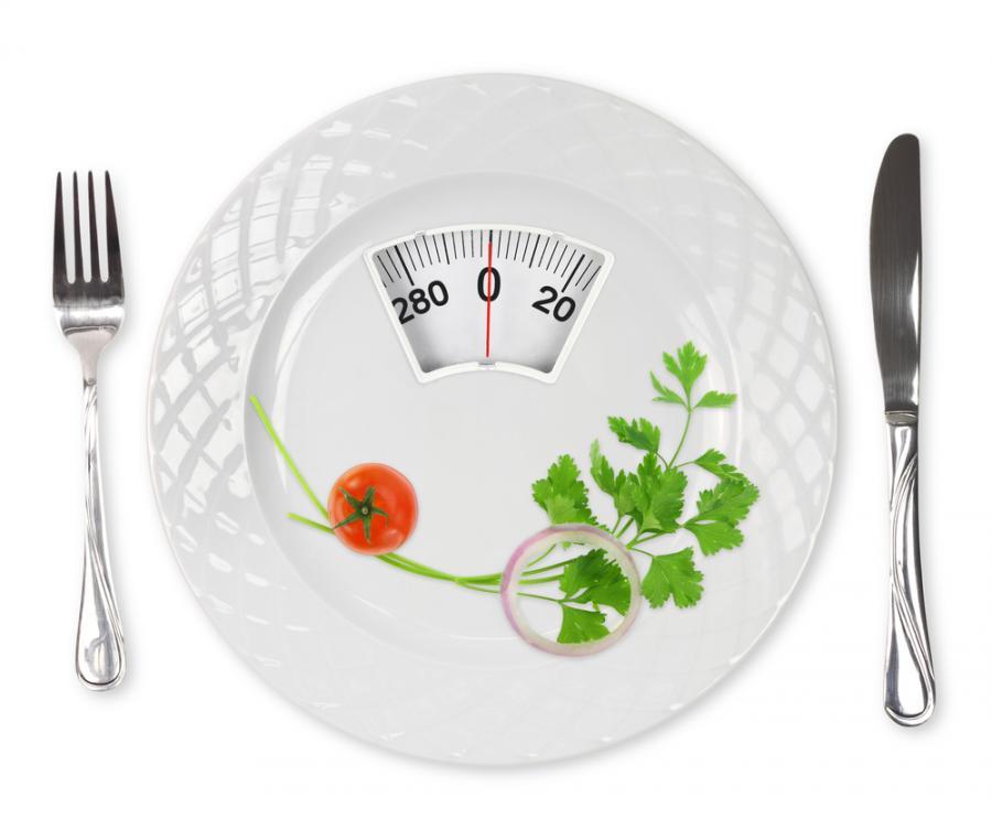 Dietetyczny talerz