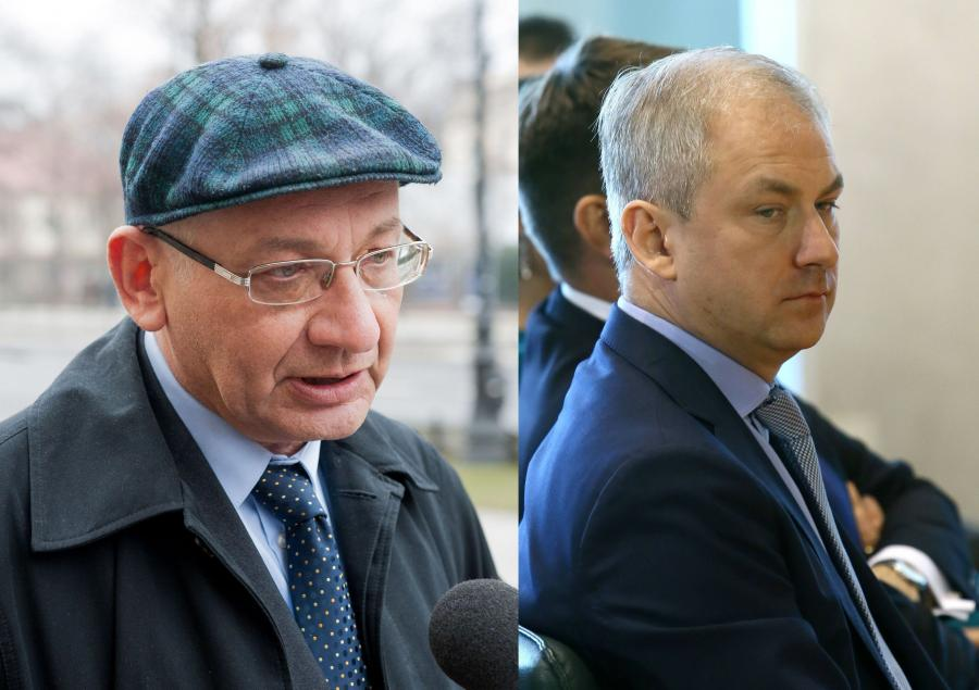 Ludwik Dorn i Grzegorz Napieralski