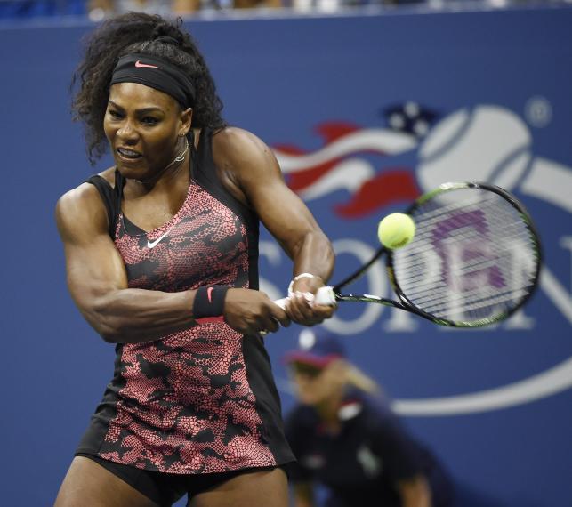 Serena Williams wyszła na kort w efektownej sukience