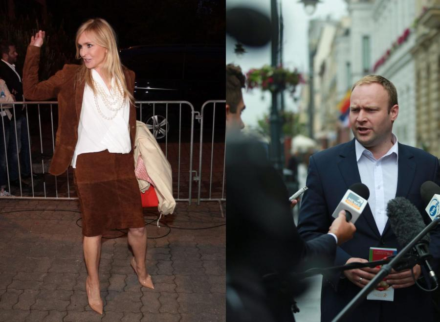 Monika Olejnik i Marcin Mastalerek