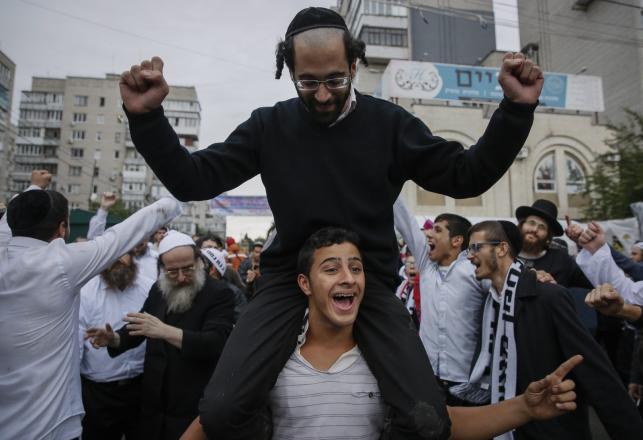 Żydzi zjechali do Humania. Świętują nowy 5776 rok