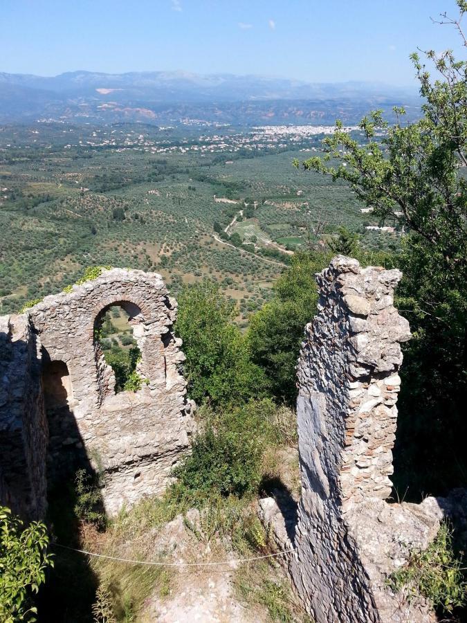 MISTRA, Grecja. Kamienne opuszczone miasto