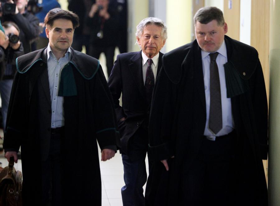 Roman Polański w krakowskim sądzie