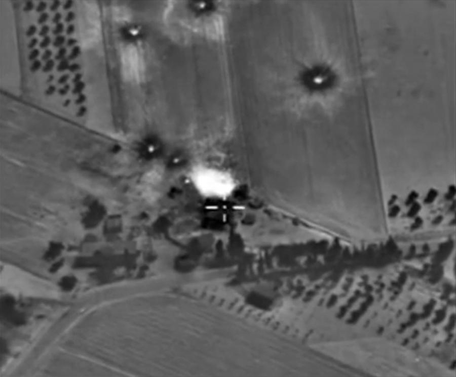Efekt rosyjskich nalotów na Syrię