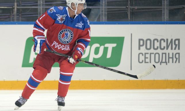 Władimir Putin znów na lodzie. Tym razem świętował 63. urodziny. ZDJĘCIA