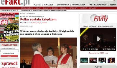 Polka została księdzem
