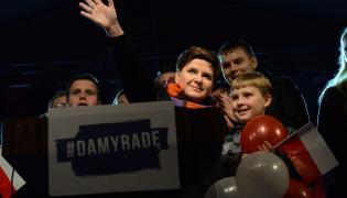 Beata Szydło na finiszu kampanii parlamentarnej