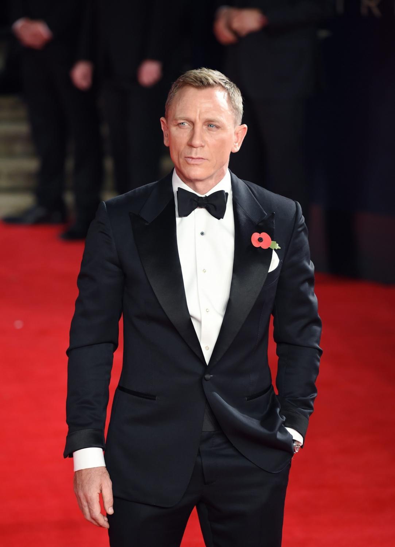 """Daniel Craig na światowej premierze """"Spectre"""""""