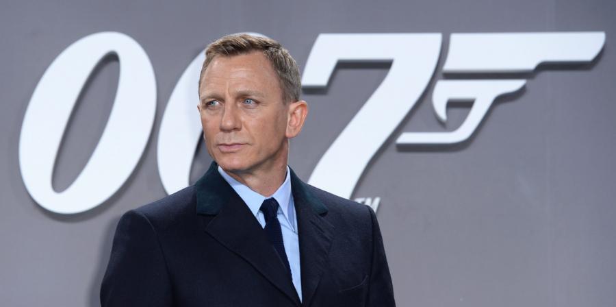 Daniel Craig na premierze \