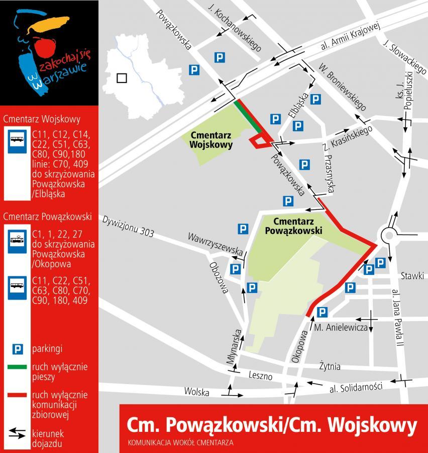 Cmentarz Powązkowski i Wojskowy