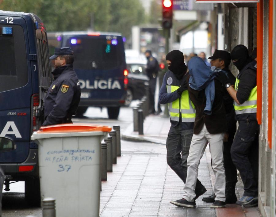 Zatrzymanie dżihadystów w Madrycie