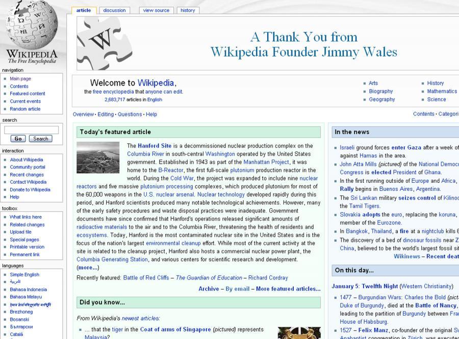 Internauci uratowali Wikipedię