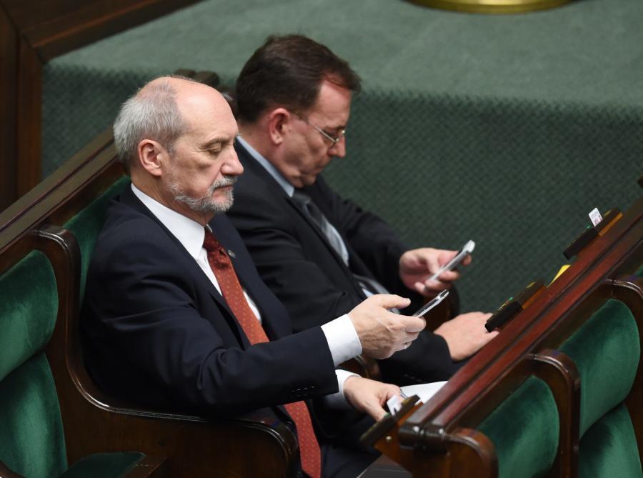 Antoni Macierewicz i Mariusz Kamiński