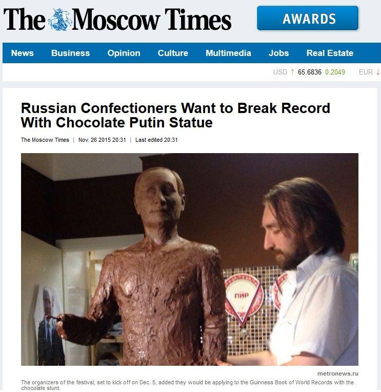 Czekoladowy Putin
