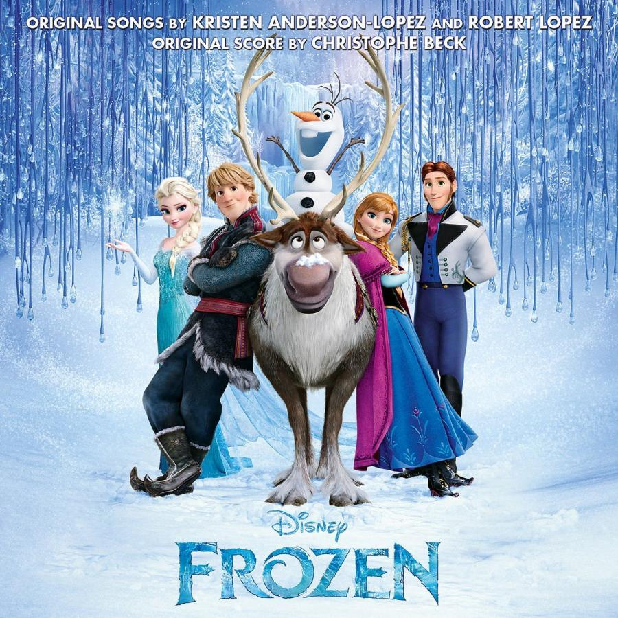 "7. ""FROZEN"" Soundtrack – 4.083.000"