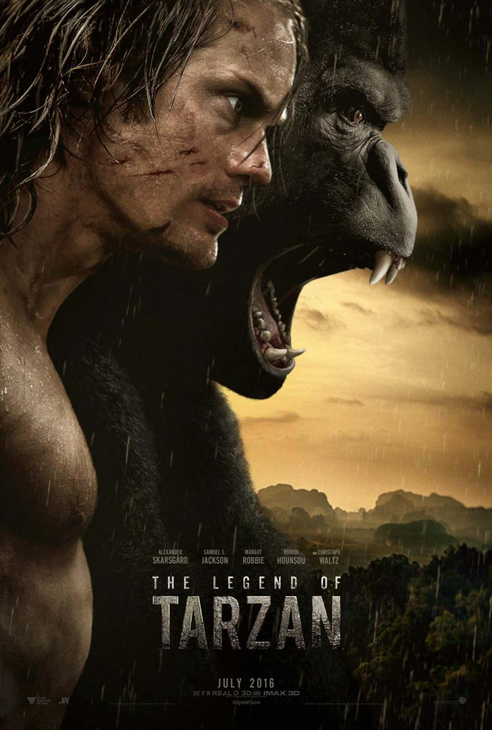 """The Legend of Tarzan"" na pierwszym plakacie"