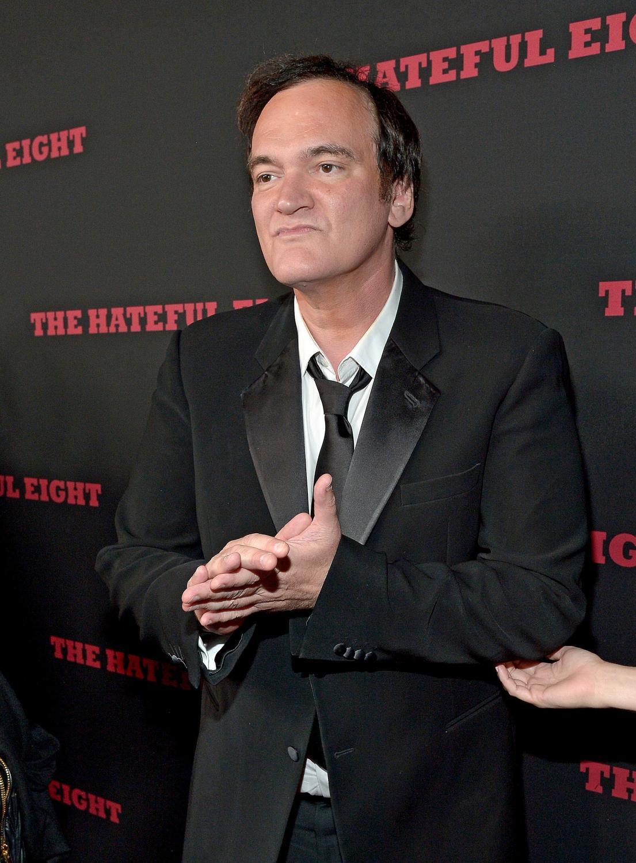 Quentin Tarantino na premierze w Los Angeles