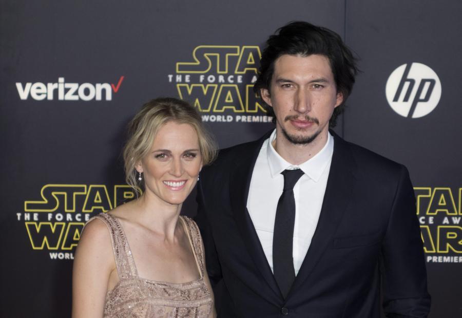 Adam Driver z żoną Joanne Tucker