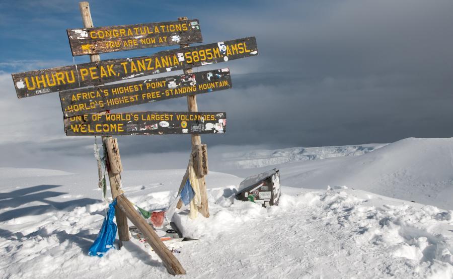 Szczyt Kilimandżaro